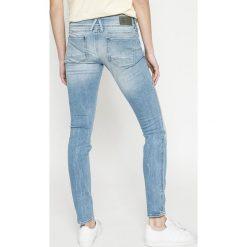 G-Star Raw - Jeansy Lynn Mid Skinny Wmn. Niebieskie jeansy damskie G-Star Raw. W wyprzedaży za 399.90 zł.