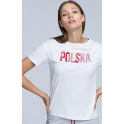 Koszulka kibica damska TSD501 - biały. T-shirty damskie marki DOMYOS. Za 49.99 zł.