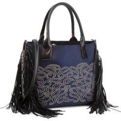 Torebka PINKO - Kamet Shopping M. AI 18-19 PLT01 1H20J4 Y4PN Blue G57. Niebieskie torby na ramię damskie Pinko. W wyprzedaży za 529.00 zł.