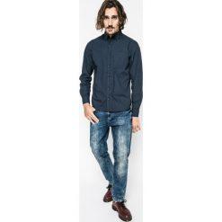 Medicine - Koszula Nocturnal. Szare koszule męskie MEDICINE, z bawełny, button down, z długim rękawem. W wyprzedaży za 59.90 zł.