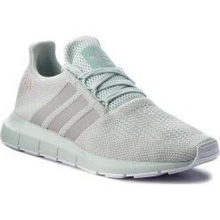 Buty adidas - Swift Run W B37720 Vapgrn/Gretwo/Ftwwhht. Zielone obuwie sportowe damskie Adidas, z materiału. W wyprzedaży za 269.00 zł.