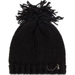 Czapka PATRIZIA PEPE - 2V8389/A3IO-K157 Black Melange. Czarne czapki i kapelusze damskie Patrizia Pepe, z materiału. Za 339.00 zł.
