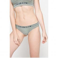 Calvin Klein Underwear - Figi. Szare figi damskie Calvin Klein Underwear, z dzianiny. W wyprzedaży za 49.90 zł.