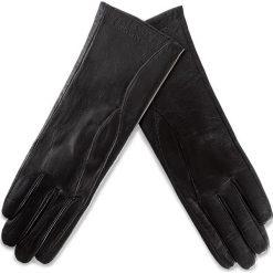 Rękawiczki Damskie WITTCHEN - 39-6L-225-1 Czarny. Czarne rękawiczki damskie Wittchen, ze skóry. W wyprzedaży za 139.00 zł.