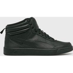 Puma - Buty Rebound Street v2. Czarne buty sportowe męskie Puma, z gumy. W wyprzedaży za 239.90 zł.