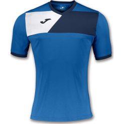 Joma sport Koszulka piłkarska Crew II niebieska r. 128 cm (100611.703). Koszulki sportowe męskie marki bonprix. Za 52.51 zł.