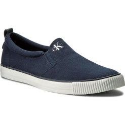 Tenisówki CALVIN KLEIN JEANS - Armand S0370 Navy. Niebieskie trampki męskie Calvin Klein Jeans, z gumy. Za 329.90 zł.