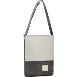Torebka MONNARI - BAG9000-M00  Biały z Szarym. Białe torebki do ręki damskie Monnari, ze skóry ekologicznej. W wyprzedaży za 139.00 zł.