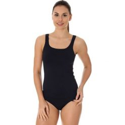 Brubeck Koszulka damska comfort cool czarna r. L (TA10430). Bluzki damskie Brubeck. Za 74.56 zł.