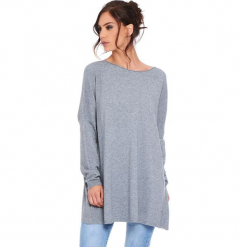 """Sweter """"Odile"""" w kolorze szarym. Szare swetry damskie Cosy Winter, z okrągłym kołnierzem. W wyprzedaży za 181.95 zł."""