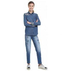 Desigual Koszula Damska Exotic Classic S Niebieski. Niebieskie koszule damskie Desigual. Za 399.00 zł.