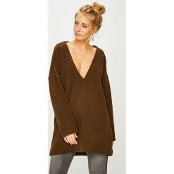Answear - Sweter Nomad. Brązowe swetry damskie ANSWEAR, z dzianiny. Za 149.90 zł.