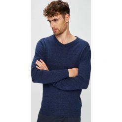 Medicine - Sweter Basic. Niebieskie swetry przez głowę męskie MEDICINE, z bawełny. W wyprzedaży za 79.90 zł.