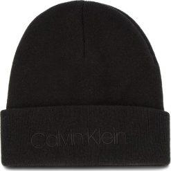 Czapka CALVIN KLEIN - Casual Beanie M K50K504121 001. Czarne czapki i kapelusze męskie Calvin Klein. Za 179.00 zł.