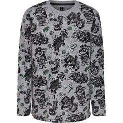 Koszulka w kolorze szarym. Szare t-shirty dla chłopców marki Lego Wear Fashion, z bawełny, z długim rękawem. W wyprzedaży za 42.95 zł.