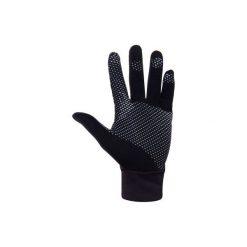 Rękawiczki Thermic. Czarne rękawiczki damskie ARTENGO, z bawełny. Za 29.99 zł.