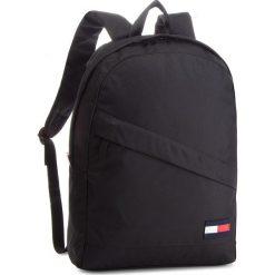 Plecak TOMMY HILFIGER - Tommy Core Backpack AM0AM03588 002. Czarne plecaki damskie Tommy Hilfiger, z materiału, sportowe. Za 349.00 zł.
