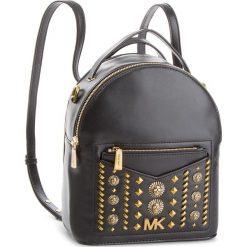 Plecak MICHAEL MICHAEL KORS - Jessa 30T8AEVB5O Black. Czarne plecaki damskie MICHAEL Michael Kors, ze skóry, eleganckie. Za 1,529.00 zł.