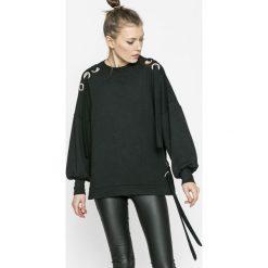 Only - Bluza. Czarne bluzy damskie Only, z bawełny. W wyprzedaży za 69.90 zł.