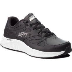 Buty SKECHERS - Woodmist 52963/BLK Black. Czarne buty sportowe męskie Skechers, z materiału. W wyprzedaży za 209.00 zł.