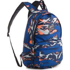 Plecak PUMA - Academy Backpack 074719 24 Peacoat/Camo. Niebieskie plecaki damskie Puma, z materiału. W wyprzedaży za 139.00 zł.