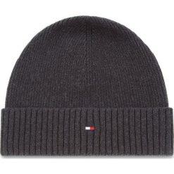 Czapka TOMMY HILFIGER - Pima Cotton Cashmere AM0AM03983 002. Czarne czapki i kapelusze męskie Tommy Hilfiger. Za 129.00 zł.