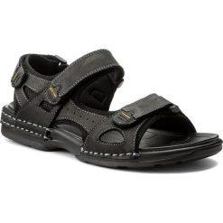 Sandały GINO ROSSI - MN2536-TWO-BG00-9900-T 99. Czarne sandały męskie Gino Rossi, z materiału. W wyprzedaży za 139.00 zł.