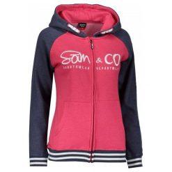Sam73 Damska Bluza Wm 730 135 L. Różowe bluzy sportowe damskie sam73, z napisami. Za 159.00 zł.