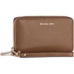 Duży Portfel Damski MICHAEL MICHAEL KORS - Mercer 32F6GM9E3L  Acorn. Brązowe portfele damskie MICHAEL Michael Kors, ze skóry. Za 479.00 zł.