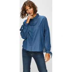 Levi's - Koszula. Brązowe koszule damskie Levi's, z bawełny, klasyczne, z klasycznym kołnierzykiem, z długim rękawem. Za 259.90 zł.