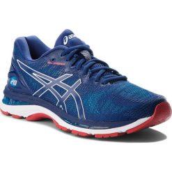 Buty ASICS - Gel-Nimbus 20 T800N Blue Print/Race Blue 400. Niebieskie buty sportowe męskie Asics, z materiału. W wyprzedaży za 529.00 zł.