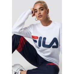 FILA Bluza Classic Logo - White. Białe bluzy damskie Fila. Za 202.95 zł.