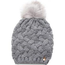 Czapka GUESS - AW7877 WOL01 GRY. Szare czapki i kapelusze damskie Guess, z materiału. W wyprzedaży za 149.00 zł.