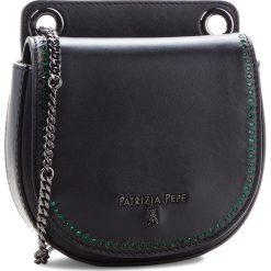 Torebka PATRIZIA PEPE - 2V6720/A2UX-F1TK Black/Shiny Green. Czarne torebki do ręki damskie Patrizia Pepe, ze skóry. Za 939.00 zł.