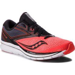 Buty SAUCONY - Kinvara 9 S20418-35 Viz Red/Blk. Brązowe buty sportowe męskie Saucony, z materiału. W wyprzedaży za 439.00 zł.