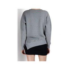 Bluza asymetryczna. Szare bluzy damskie Sax35th by alicja czarniecka, w geometryczne wzory, z bawełny. Za 230.00 zł.