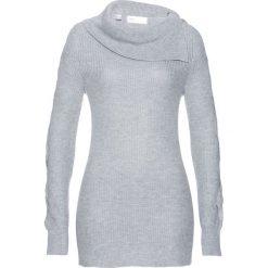 Sweter bonprix jasnoszary melanż. Swetry damskie marki KALENJI. Za 89.99 zł.