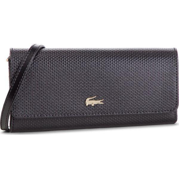 3d97dfdffafe3 Torebka LACOSTE - Mini Crossover Wallet NF1705CE Black 000 ...