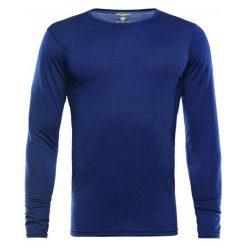 Devold Koszulka Męska Furnes Man Shirt With Print Brick L. Niebieskie koszulki sportowe męskie Devold, z wełny, z długim rękawem. Za 329.00 zł.