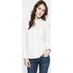 Levi's - Koszula. Brązowe koszule damskie Levi's, w kratkę, z bawełny, casualowe, z długim rękawem. W wyprzedaży za 199.90 zł.