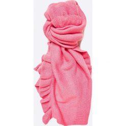 Vero Moda - Szal. Różowe szaliki i chusty damskie Vero Moda, z dzianiny. W wyprzedaży za 39.90 zł.