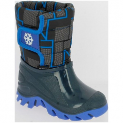 V+J Buty Zimowe Chłopięce 24-25 Niebieski. Niebieskie buty zimowe chłopięce V+J. Za 105.00 zł.