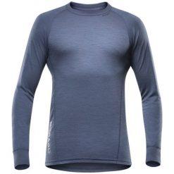 Devold Koszulka Męska Duo Active Man Shirt Night Xl. Szare koszulki sportowe męskie Devold, ze skóry, z długim rękawem. W wyprzedaży za 209.00 zł.