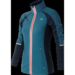 New Balance WJ63200CSY. Szare kurtki sportowe damskie New Balance, na jesień, z lycry. W wyprzedaży za 329.99 zł.
