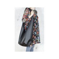 Long Boogi bag czarna wygodna torba z szerokim paskiem. Czarne torby na ramię damskie Hairoo. Za 205.00 zł.