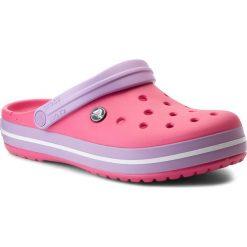 Klapki CROCS - Crocband 11016 Paradise Pink/Iris. Czerwone klapki damskie Crocs, z tworzywa sztucznego. W wyprzedaży za 159.00 zł.
