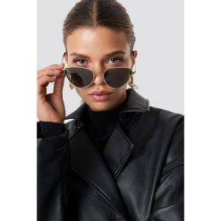 NA-KD Accessories Okulary przeciwsłoneczne Cat Eye - Green. Zielone okulary przeciwsłoneczne damskie NA-KD Accessories. Za 60.95 zł.