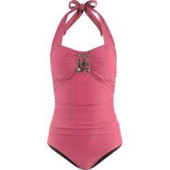 Kostium kąpielowy shape bonprix jeżynowy. Fioletowe kostiumy jednoczęściowe damskie bonprix. Za 109.99 zł.