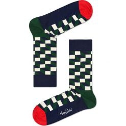 Happy Socks - Skarpety Holiday Big Dot Gift Box (4-pak). Czarne skarpety męskie Happy Socks, z bawełny. Za 119.90 zł.