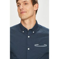 Jack & Jones - Koszula. Szare koszule męskie Jack & Jones, z bawełny, button down, z długim rękawem. Za 169.90 zł.